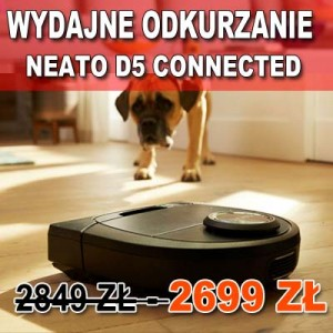 Neato D5 Connected  - Promocja